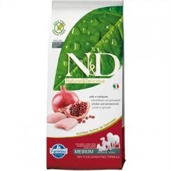 N&D Kylling og Granatæble Adult 12 kg.