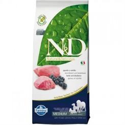N&D Lam og Blåbær Adult 12 kg.