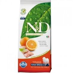 N&D Fisk og Appelsin Adult 12 kg.