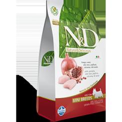 N&D Kylling og Granatæble Mini Adult 7 kg.