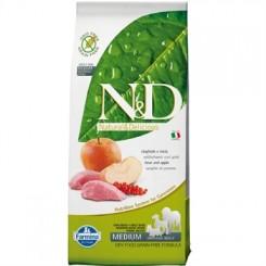 N&D Vildsvin og Æble Adult  12 kg.