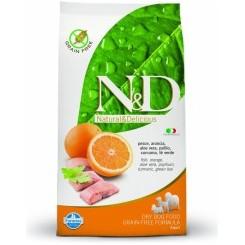 N&D Fisk og Appelsin Mini Adult 7 kg.